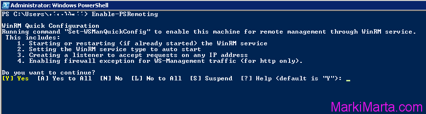 Execute commands on Remote machine using Windows PowerShell