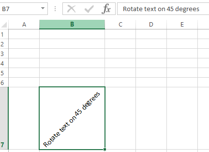 how to angle cells in excel 2013 how to make text