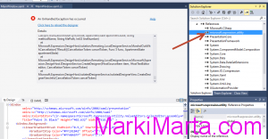 Figure 2. Delete Microsoft.Expression.Utility.dll from References