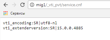 Retrieve SharePoint version from URL